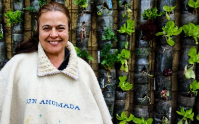 Marlyn, the organic farmer –gives away organic food for free