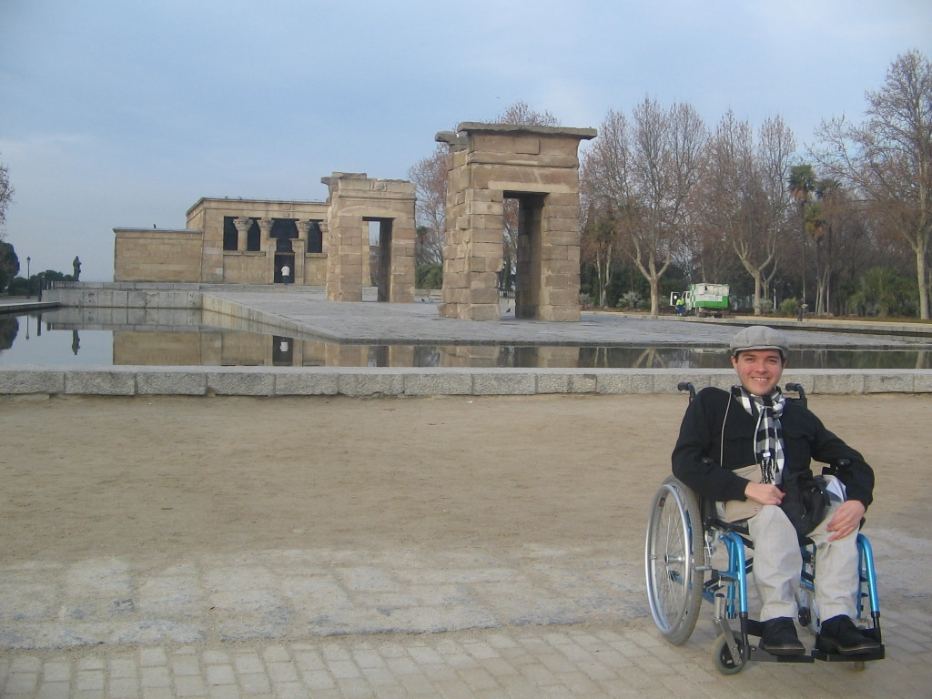 Nicolás, the wheelchair visionary–wants to make Colombia accessible