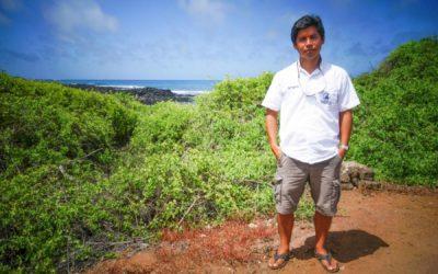 José Marin Jarrin –conserves wildlife on the Galápagos Islands